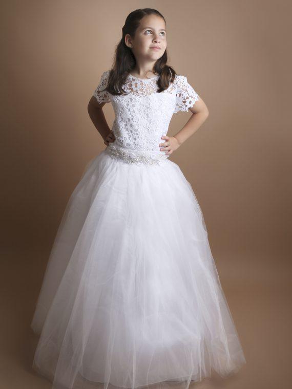 Vestido YA89 Blanco 1