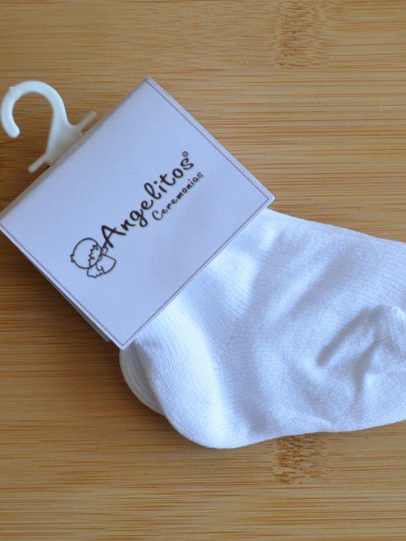 calceta niño blanco 1
